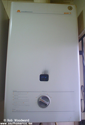 The water heating device known as the Calefont