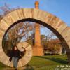 Estatua en Colonia de Sacramiento - Uruguay