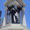 Monumento de la batalla de Iquique en la plaza Sotomayor de Valparaiso