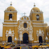 El catedral de Trujillo en Perú