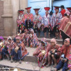 Typical costumes from Cusco Peru