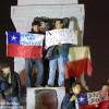 Celebración en Plaza Italia - Los 33 mineros están vivos