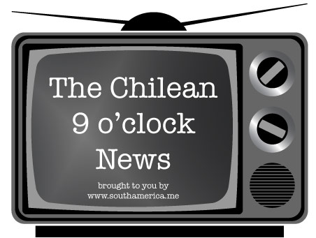 The Chilean 9 o'clock news