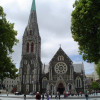 Christchurch cathedral before the Earthquake, unfortunately the spire is no longer there.