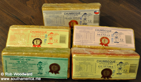 Chumbeques from Iquique, Chile