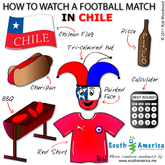 How to watch a football match in Chile