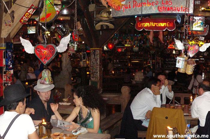 Andrés Carne de Res Restaurant near Bogotá Colombia