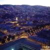 The hills of Valparaiso at night